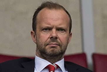 Spotted: Ed Woodward pictured entering Manchester United dressing room