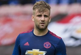 Luke Shaw lost for words after Manchester United return