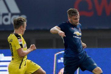 Luke Shaw shines in dismal 4-1 defeat to Borussia Dortmund