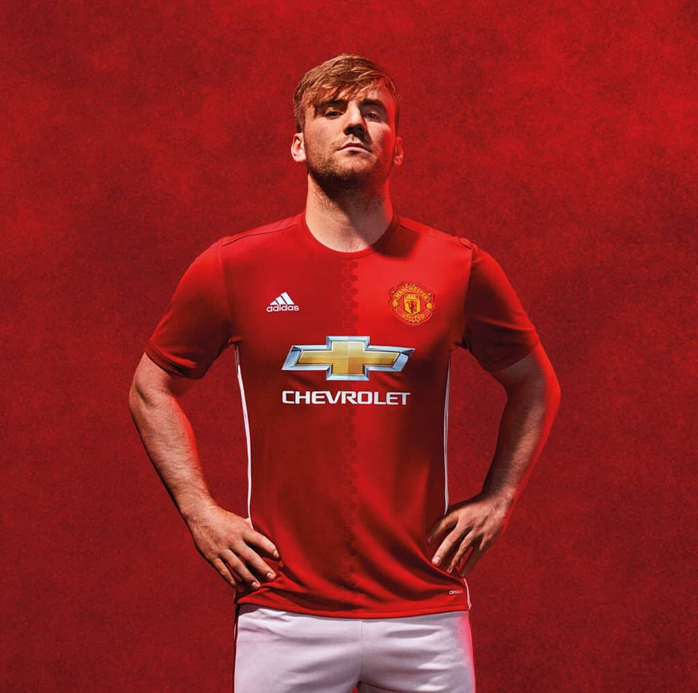 Daley Blind Wallpaper: Manchester United 2016/17 Home Kit Released: Picture Gallery