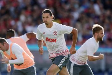 Picture: Ibrahimovic's brilliant reaction to Rashford's run vs Galatasaray