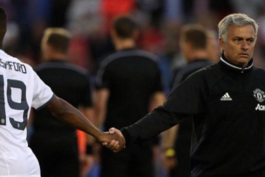 Marcus Rashford full of praise for Jose Mourinho at Manchester United