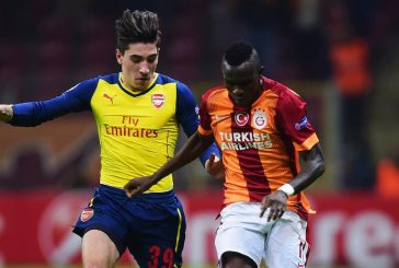 Galatasaray winger Bruma being watched by Jose Mourinho this season