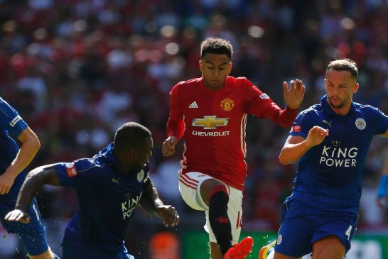 Jesse Lingard returns to training with Manchester United following injury