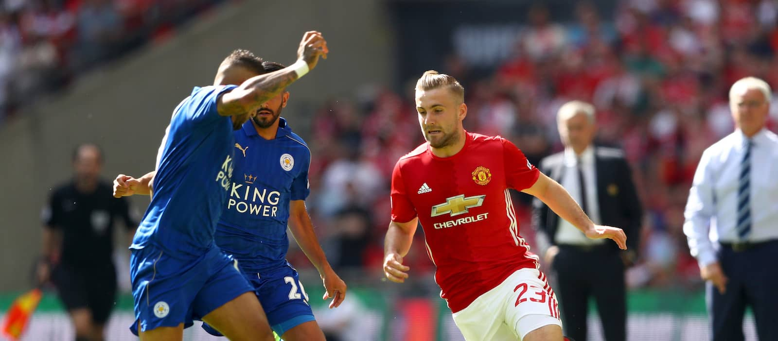 Luke Shaw: Jose Mourinho plays attacking football at Manchester United
