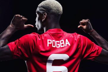 Photo: Patrice Evra sends Paul Pogba hilarious message after Man United transfer