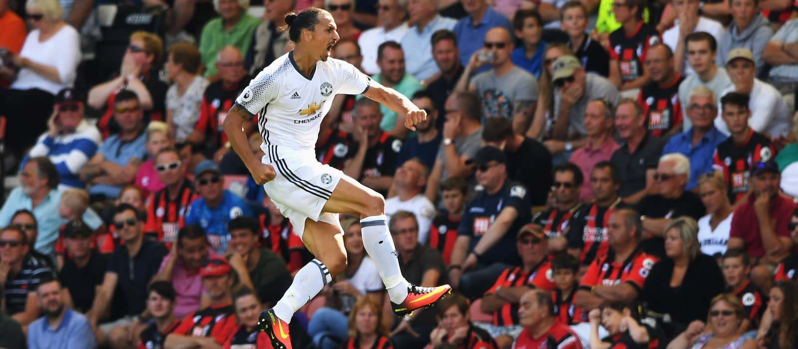 Zlatan Ibrahimovic discusses his Premier League debut with Man United