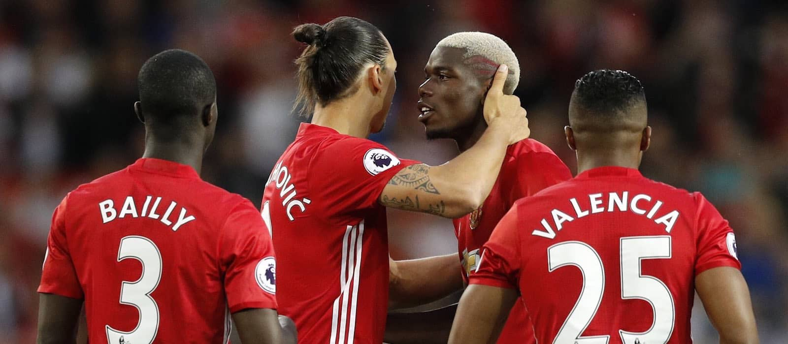 Manchester United boosted by return of Paul Pogba while Ibrahimovic continues training by himself in recovery – report