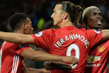Photos: Zlatan Ibrahimovic in Manchester United training for Hull City