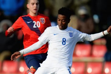 Manchester United include 16-year-old Angel Gomes in first-team training