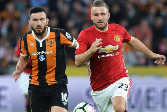 Luke Shaw: I want to be winning trophies with Man United and England