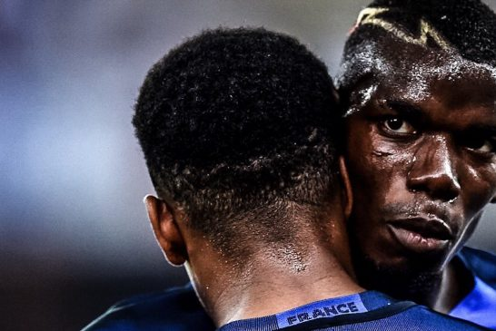 Manchester United's Paul Pogba picks up two assists for France against Italy