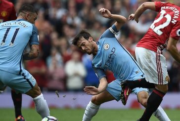 Ander Herrera not happy after Manchester derby loss