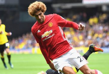 Gary Neville blasts Marouane Fellaini for red card against Man City