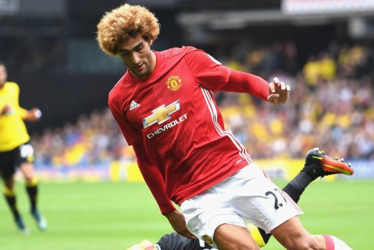 Red Thoughts: Is Marouane Fellaini better than we give him credit for?