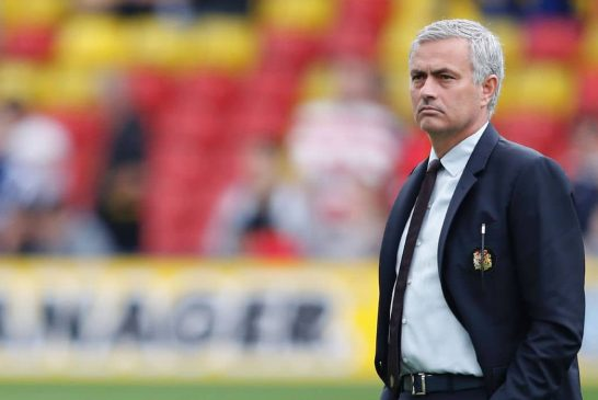 Jose Mourinho discusses Manchester United's title credentials for next season