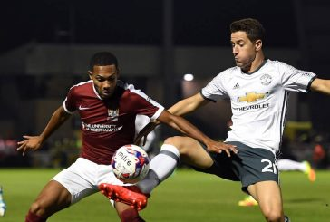 Ander Herrera focused on Manchester derby after Northampton win