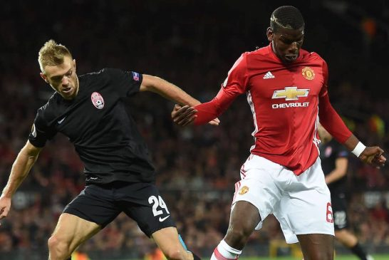 Man United fans pleased with Paul Pogba's performance against Zorya