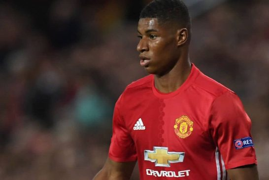 Manchester United fans delighted with Marcus Rashford's performance against Manchester City