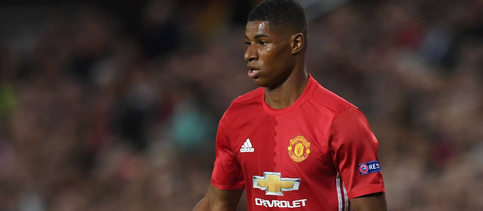 Marcus Rashford reveals his childhood idols at Manchester United