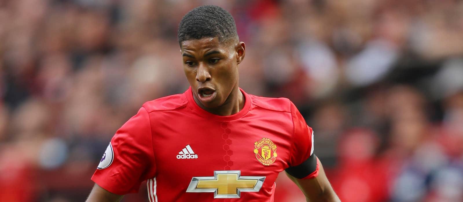 Gary Lineker reacts to Marcus Rashford's spectacular performance against West Ham