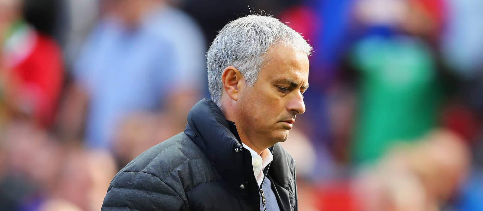 Jose Mourinho refuses to criticise Manchester United players after Stoke draw