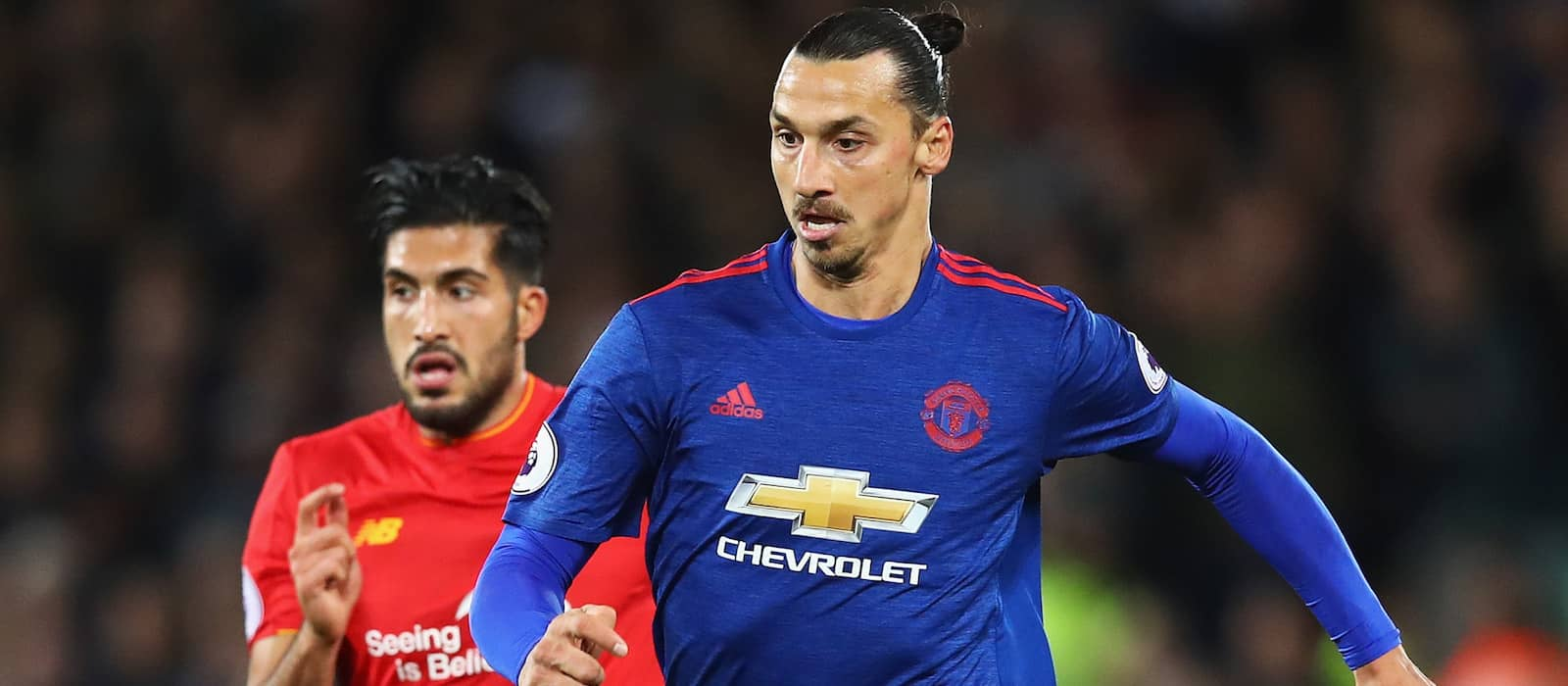 Zlatan Ibrahimovic continues to work hard ahead of Manchester United return