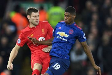 Jose Mourinho explains why Marcus Rashford was forced off against Liverpool