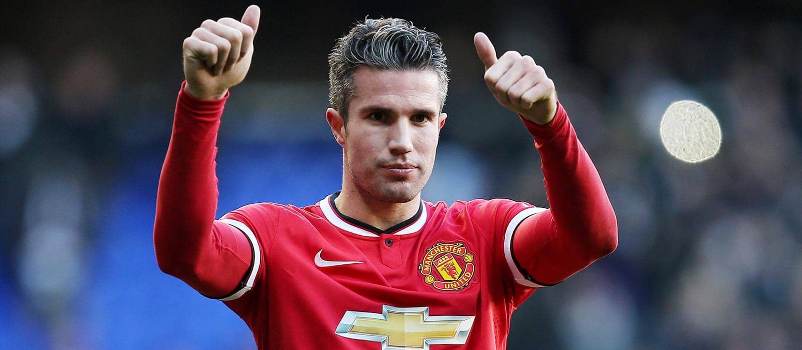 See who Robin van Persie chose between Fergie and Monsieur – it was a hard decision.