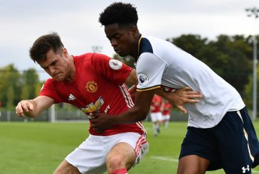 Photo: Joe Riley enthusiastic ahead of pre-season with Manchester United