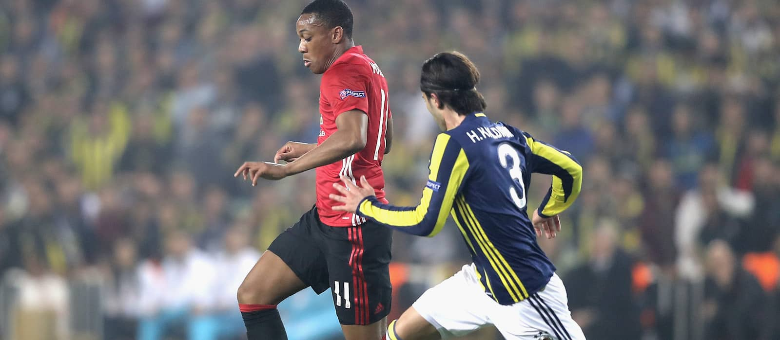 Man United fans impressed with Anthony Martial's display despite Fenerbahce defeat