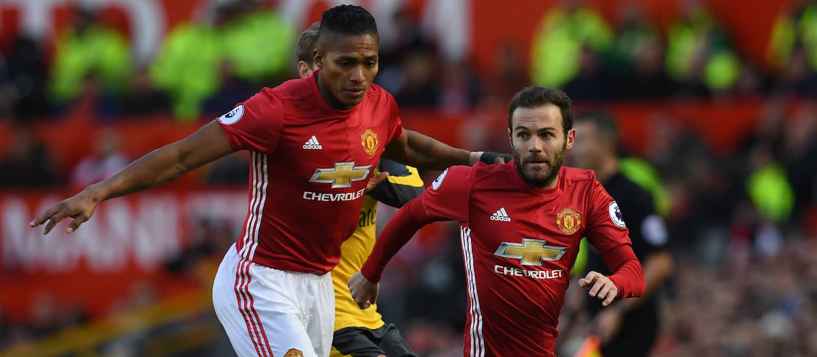 Manchester United vs Stoke City: Potential XI with Juan Mata and Antonio Valencia
