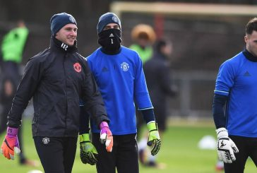 Kieran O'Hara joins Manchester United first team for training