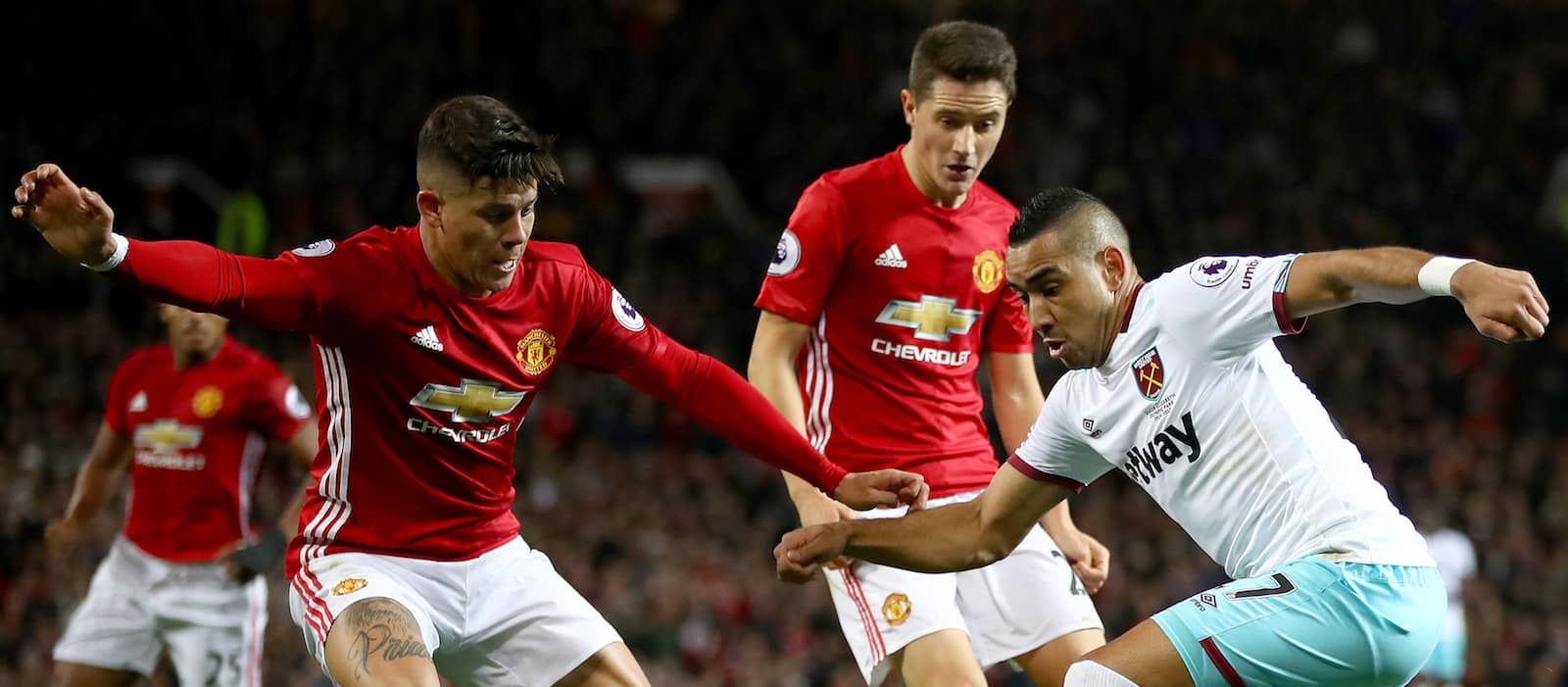 Jose Mourinho confirms Ander Herrera and Marcos Rojo are injured for Wolverhampton Wanderers clash
