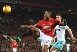 Manchester United fans pleased with Antonio Valencia's performance against West Ham