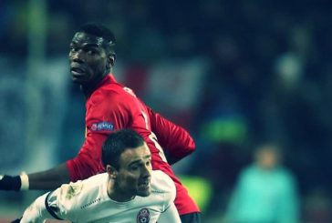 Manchester United fans pleased with Paul Pogba's performance against Zorya Luhansk