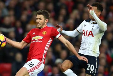The reason why Michael Carrick was absent against Middlesbrough