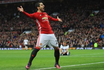 Henrikh Mkhitaryan reveals which Manchester United legend he looks up to