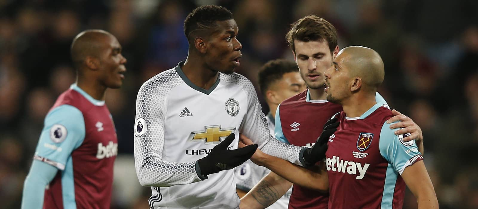 West Ham United 0-2 Manchester United: Player ratings