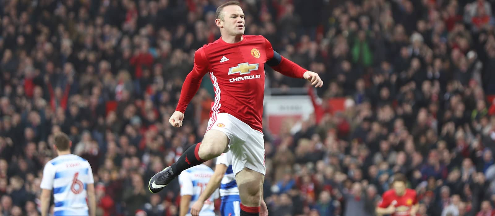Man United players pay tribute to Wayne Rooney