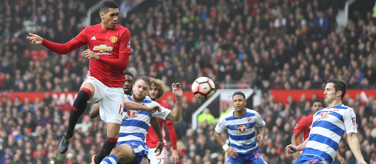 Manchester United willing to listen to offers for Chris Smalling – report