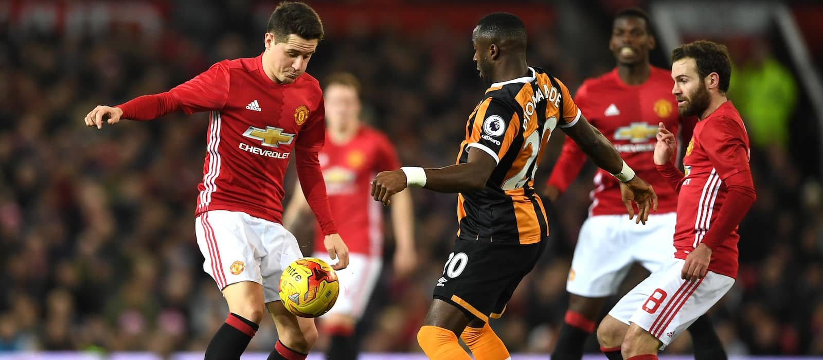 Ander Herrera produces commanding performance against Hull City