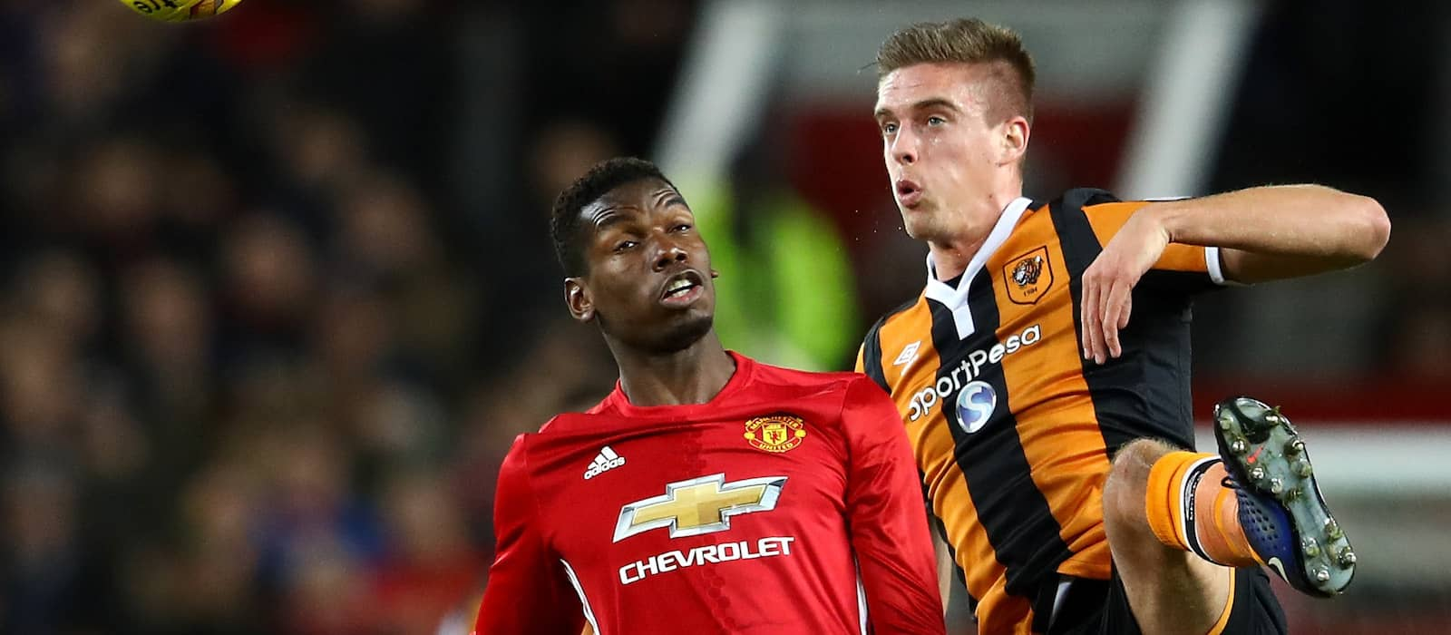 Man United fans thrilled with Paul Pogba's performance against Hull City