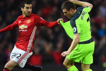 Henrikh Mkhitaryan sends a message to Manchester United supporters following Liverpool draw