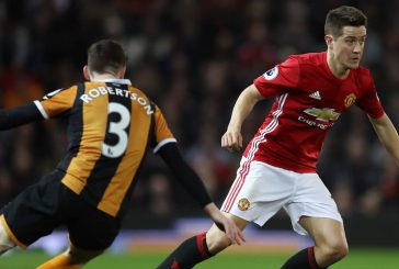 Manchester United will monitor Ander Herrera's fitness ahead of Manchester City