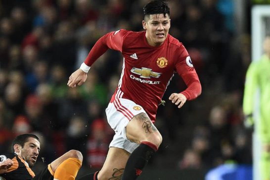 How Marcos Rojo has improved at Manchester United this season