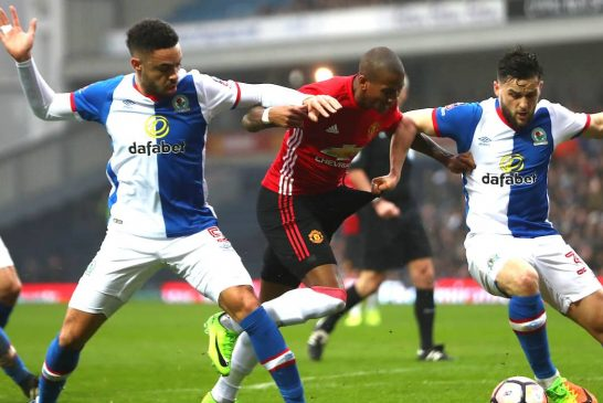 Jose Mourinho: Ashley Young was the Man of the Match against Blackburn Rovers
