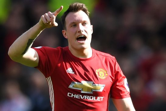 Phil Jones suffers muscle injury in Manchester United's shock defeat to Huddersfield Town