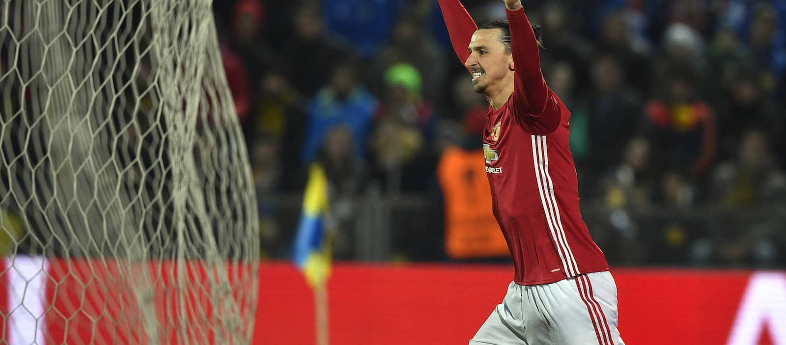 Zlatan Ibrahimovic: I'm happy at Manchester United