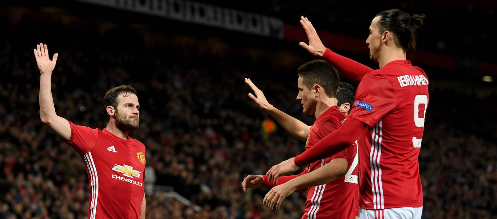 Ander Herrera, Juan Mata, Ashley Young open to signing new contract at Manchester United – report